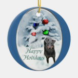 Manchester Terrier Christmas Gifts Ornament