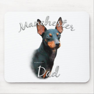 Manchester Terrier Dad 2 Mouse Pad