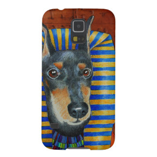 Manchester Terrier Egyption Pharoah Funda Galaxy S5