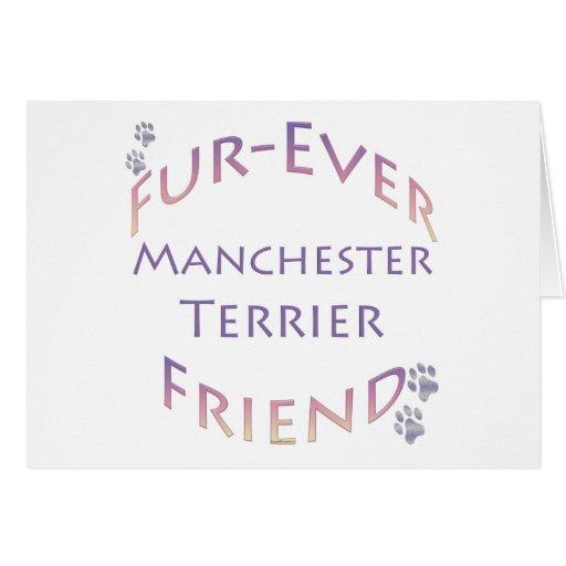 Manchester Terrier Furever Tarjeta