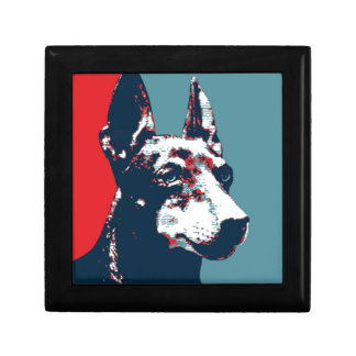 Manchester Terrier Hope Parody Political Poster Gift Box