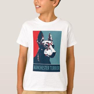 Manchester Terrier Hope Parody Political Poster T-Shirt