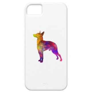 Manchester Terrier in watercolor iPhone SE/5/5s Case