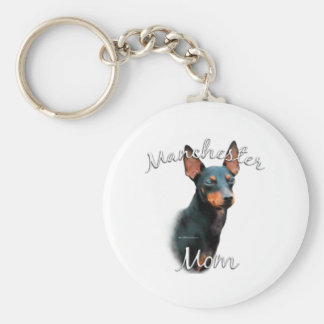 Manchester Terrier Mom 2 Key Chains