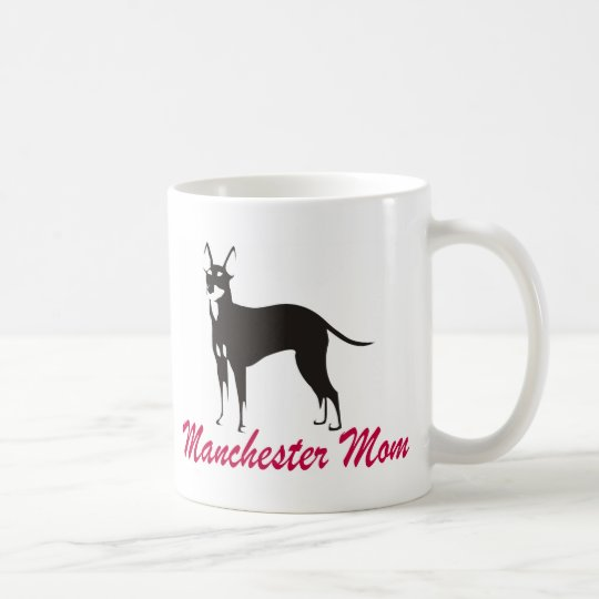 Manchester Terrier Mom Coffee Mug