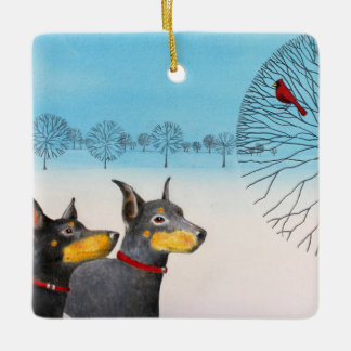Manchester Terrier Ornament