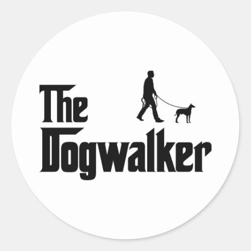 Manchester Terrier Pegatinas Redondas