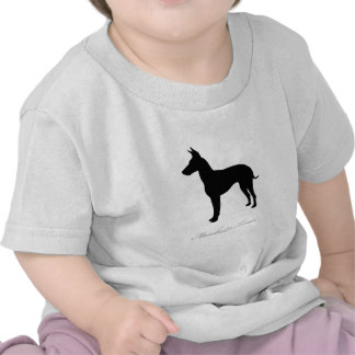 Manchester Terrier silhouette Shirts
