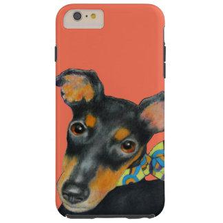 Manchester Terrier Tough iPhone 6 Plus Case