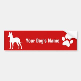 Manchester Terrier (Toy) トイ・マンチェスター・テリア Bumper Sticker