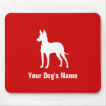 Manchester Terrier (Toy) トイ・マンチェスター・テリア Mouse Pad