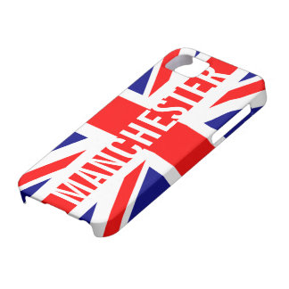 Manchester UK Flag Union Jack iPhone SE/5/5s Case