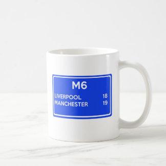 Manchester Versus Liverpool - Football Related Coffee Mug