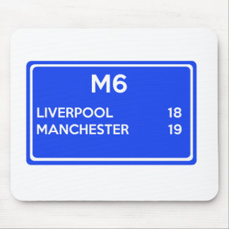 Manchester Versus Liverpool - Football Related Mouse Pad
