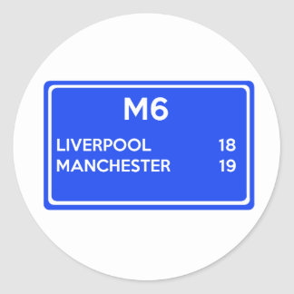 Manchester Versus Liverpool - Football Related Stickers