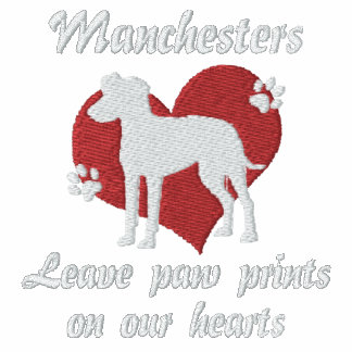 Manchesters Leave Paw Prints