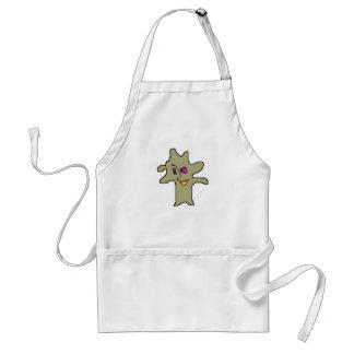 manchita character adult apron