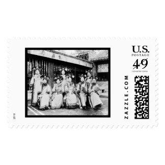 Manchu China Ladies 1918 Postage