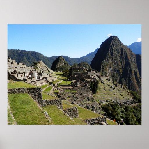 Manchu Picchu Póster