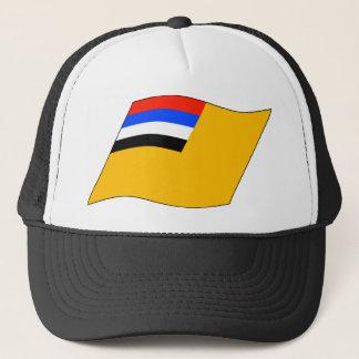 Manchukuo flag trucker hat