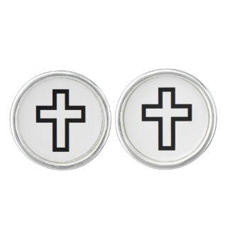 """Mancuernas de la """"cruz"""" gemelos"""