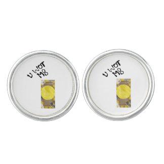 Mancuernas del botón de puerta gemelos