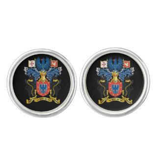 Mancuernas del escudo de armas de Azores* Mancuernillas