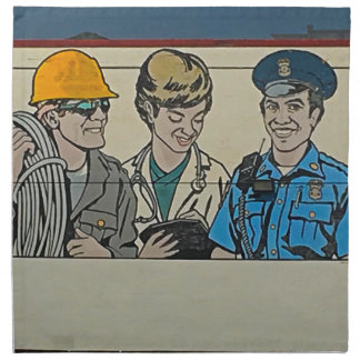 Mancys Mural Napkin