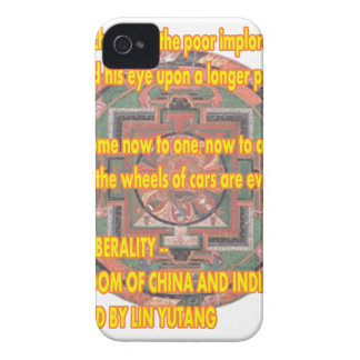 Manda Words To Live By LIBERALITY2 jGibney The MUS iPhone 4 Case-Mate Case
