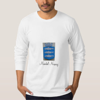 Mandal Norway (coat of arms) Shirt
