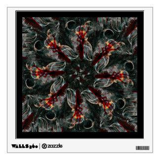 Mandala - 0026 - Many Hearted Core B Wall Decal