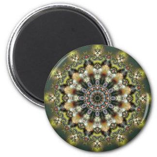 Mandala 105 Fridge Magnet