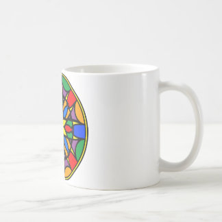 Mandala 11  dream catcher coloer version coffee mug