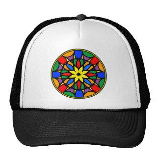 Mandala 11  dream catcher coloer version trucker hat
