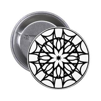 Mandala 11 dreamcatcher pinback button