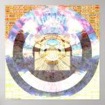 Mandala 1,1 del mosaico posters
