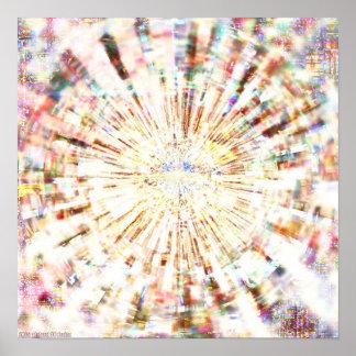 Mandala 1,2 del mosaico impresiones