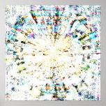 Mandala 1,4 del mosaico posters