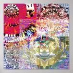 Mandala 1,9 del mosaico impresiones