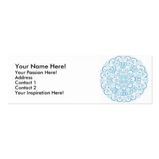 Mandala 1 Profile card Business Card Template