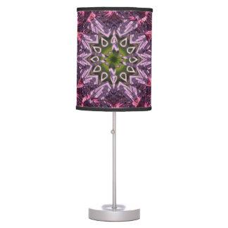 Mandala 2015 de la torsión de la flor lámpara de mesilla de noche