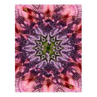 Mandala 2015 de la torsión de la flor postal