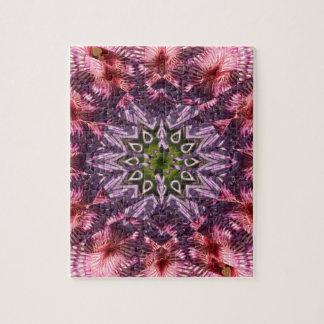 Mandala 2015 de la torsión de la flor puzzle