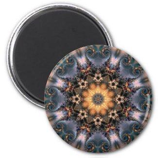 Mandala 208 Fridge Magnet magnet