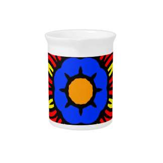 Mandala 26 flame flower color version pitchers