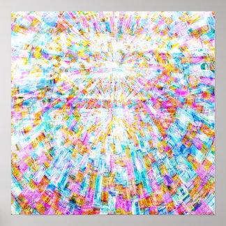 Mandala 2 de la salida del sol póster
