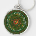 Mandala 2 keychain