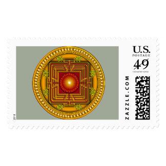 Mandala #2 postage