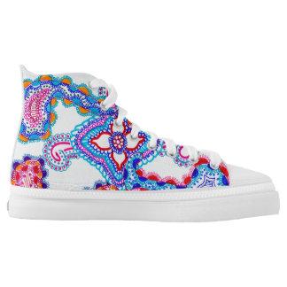 Mandala 2 printed shoes