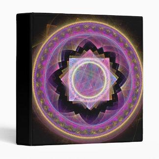 Mandala 3 Ring Binder